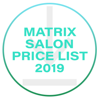 Matrix Salon Price List 2019