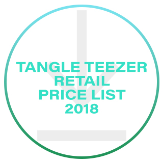 TANGLE TEEZER RETAIL PRICE LIST 2018