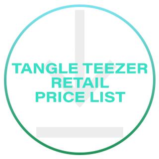 TANGLE TEEZER RETAIL PRICE LIST 2020