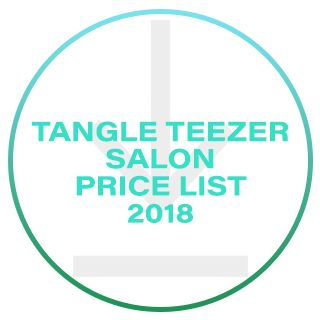 TANGLE TEEZER SALON PRICE LIST 2018