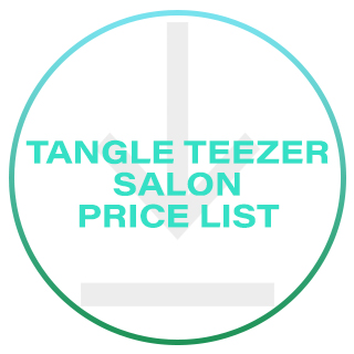 TANGLE TEEZER SALON PRICE LIST 2020