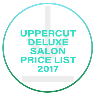 UPPERCUT SALON PRICE LIST 2017