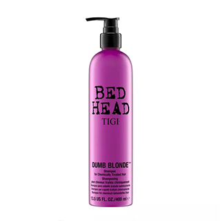 NEW BEDHEAD DUMB BLONDE SHAMPOO 400ML