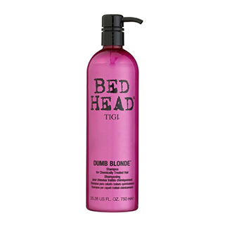 NEW BEDHEAD DUMB BLONDE SHAMPOO 750ML