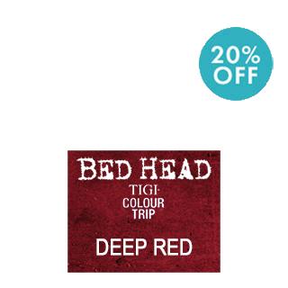 TIGI BEDHEAD COLOURTRIP DEP RED 90ML