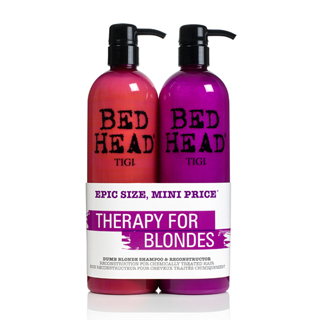 TIGI NEW BEDHEAD DUMB BLONDE TWEEN DUO