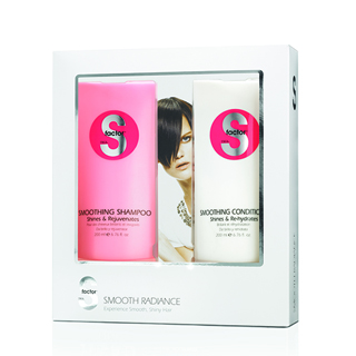 TIGI S-FACTOR  SMOOTH RADIANCE GIFT PACK