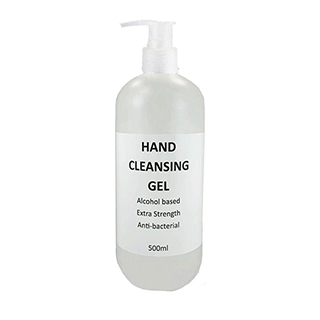 Hand Cleansing Gel 500ml Anti-Bacterial 70% Alcohol