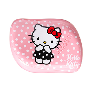 TANGLE TEEZER COMPACT STYLER PINK/WHITE HELLO KITTY