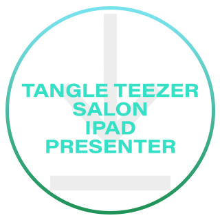 TANGLE TEEZER SALON IPAD PRESENTER