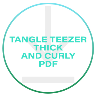 TANGLE TEEZER THICK & CURLY PDF