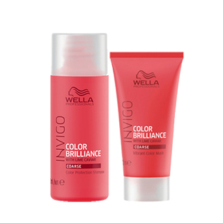 Wella Invigo Color Brilliance Coarse Mini Duo