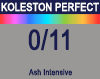 New Koleston Perfect Me+ 0/11 Intense Ash 60ml