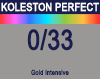 New Koleston Perfect Me+ 0/33 Intense Gold 60ml