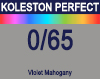 New Koleston Perfect Me+ 0/65 Violet Mahogany 60ml