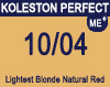 Koleston Perfect Me+ 10/04 Lightest Natural Red Blonde 60ml