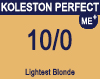 New Koleston Perfect Me+ 10/0 Lightest Blonde 60ml