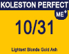 Koleston Perfect Me+ 10/31 Lightest Gold Ash Blonde 60ml