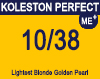 Koleston Perfect Me+ 10/38 Lightest Gold Pearl Blonde 60ml