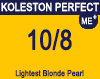 Koleston Perfect Me+ 10/8 Lightest Pearl Blonde 60ml