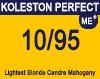New Koleston Perfect Me+ 10/95 Lightest Cendre Red Violet Blonde 60ml