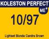New Koleston Perfect Me+ 10/97 Lightest Cendre Brunette Blonde 60ml