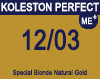 New Koleston Perfect Me+ 12/03 Special Natural Gold Blonde 60ml