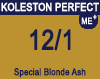 New Koleston Perfect Me+ 12/1 Special Ash Blonde 60ml