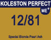 New Koleston Perfect Me+ 12/81 Special Ash Pearl Blonde 60ml