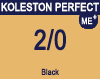 New Koleston Perfect Me+ 2/0 Darkest Brown Natural 60ml