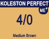 New Koleston Perfect Me+ 4/0 Medium Brown 60ml