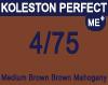 New Koleston Perfect Me+ 4/75 Medium Brunette Mahogany Brown 60ml