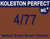 New Koleston Perfect Me+ 4/77 Medium Intense Brunette Brown 60ml
