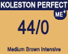 New Koleston Perfect Me+ 44/0 Intense Medium Brown 60ml