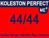 New Koleston Perfect Me+ 44/44 Medium Intense Red Brown 60ml