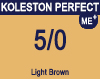 New Koleston Perfect Me+ 5/0 Light Brown 60ml