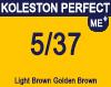 New Koleston Perfect Me+ 5/37 Light Gold Brunette Brown 60ml