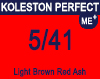New Koleston Perfect Me+ 5/41 Light Brown Red Ash 60ml