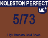 New Koleston Perfect Me+ 5/73 Light Brunette Gold Brown 60ml
