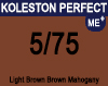 New Koleston Perfect Me+ 5/75 Light Brunette Mahogany Brown 60ml