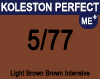 New Koleston Perfect Me+ 5/77 Light Intense Brunette Brown 60ml