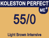 New Koleston Perfect Me+ 55/0 Light Brown Intensive 60ml