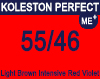 New Koleston Perfect Me+ 55/46 Light Intense Red Violet Brown 60ml