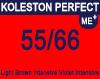 New Koleston Perfect Me+ 55/66 Light Intense Violet Brown 60ml