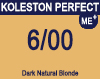 New Koleston Perfect Me+ 6/00 Dark Natural Blonde 60ml