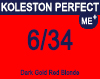 New Koleston Perfect Me+ 6/34 Dark Gold Red Blonde 60ml