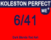 New Koleston Perfect Me+ 6/41 Dark Blonde Red Ash