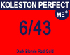 New Koleston Perfect Me+ 6/43 Red Gold Blonde 60ml