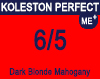 New Koleston Perfect Me+ 6/5 Dark Mahogany Blonde 60ml
