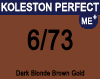 New Koleston Perfect Me+ 6/73 Dark Brunette Gold Blonde 60ml